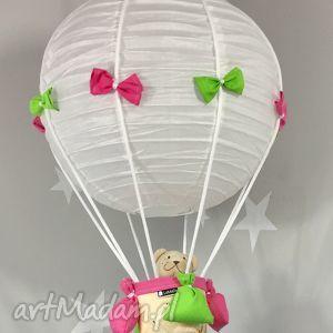 lampa lamado latający miś - lampa, latający, miś, balon, sufitowa