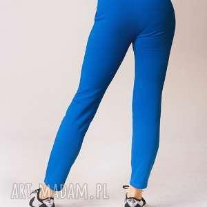spodnie w kolorze chabrowym, dress, moda, styl, 3foru, fitness, fashion