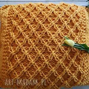 hand-made poduszki poduszka ze sznurka bawełnianego