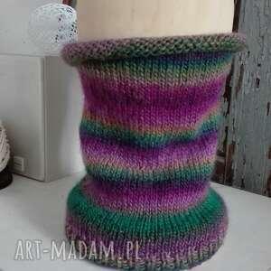 handmade szaliki komin - zamowienie pani agnieszki