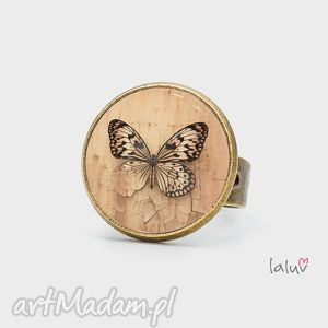 pierścionek butterfly