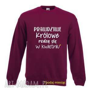 ręczne wykonanie pomysł na świąteczny upominek bluza z nadrukiem dla solenizanta