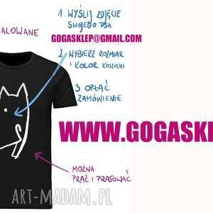 koszulki ręcznie malowane koszulki, malowane