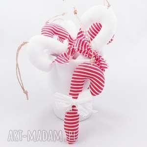 zawieszki bombki na choinkę cukierki laski - ,zawieszki,bombki,świąteczne,ozdoby,lizaczki,