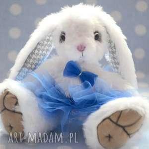 hand made, królisia lola, szyta ręcznie, przytul misie - miś, królik
