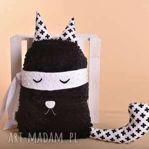 Prezent Poduszka dziecieca kot rabuś, kot-na-prezent, kot-hand-made, maskotka-kot
