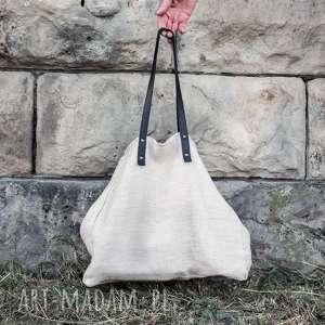 monest atelier torba konopna slow, ekologiczna, na ramie
