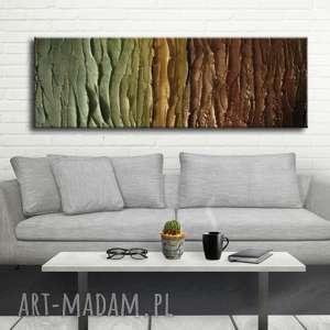 handmade dekoracje duży nowoczesny obraz do salonu