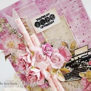 Kartka dla przyjaciela - handmade