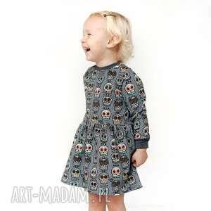 mamaiti sukienka dresowa czachy etno, dresowa, dla dziecka