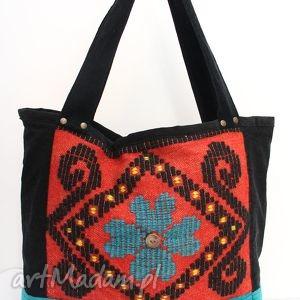 0c7d8f3b70c76 Czerwone hand made torebka torebki jeansowawyprzedano kolorowa, pojemna,  wygodna, oryginalna torebki