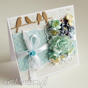 Prezent Kartka na imieniny lub urodziny, kartka, życzenia,