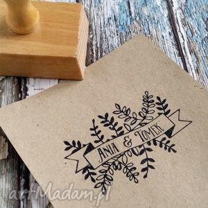 stempel exlibris 40x60mm botanic, stemple, exlibris, ślub, wesele, zaproszenie