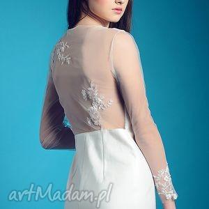 nowa kolekcja - non lo so, romantyczna, ślubna, sukienka, koronkowe, aplikacje