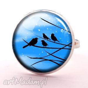 nocne marki - pierścionek regulowany, biżuteria, romantyczna