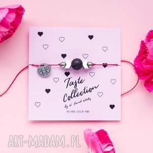 WHW Taste Lava II, sznurkowa, sznureczkowa, delikatna, makrama, lawa, hematyt