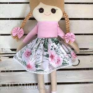 lalki szmaciana laleczka róże, szmacianka, szmaciana, szyta, lalka, tutu