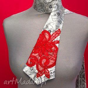 krawaty krawat damski izabella, krawat, damski, korąnka