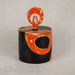ceramika szkatułka ceramiczna, ręcznie wykonana, święta