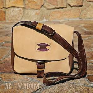 ręczne wykonanie torebki torba skórzana navahoclothing