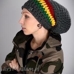 DreadLove Rasta 02, czapka, czapa, dready, rasta, długa, ciepła