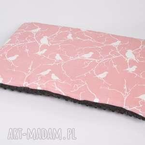 Płaska poduszka minky - na gałązce 40x60 cm, poduszka,