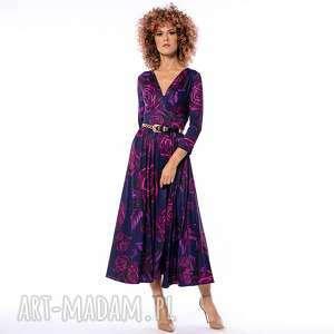 milita nikonorov amelia magic rose - koktajlowa sukienka, wieczorowa