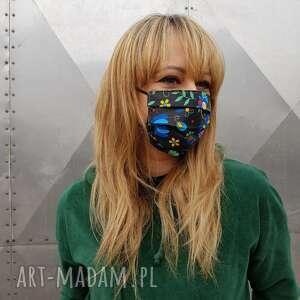 maseczki maseczka ochronna folkowa kolorowa wesoła kosmetyczna maska do twarzy