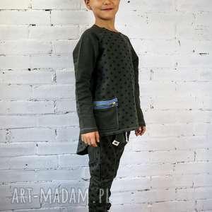spodnie baggy stars, spodnie, dziecko, las, wycieczka, gwiazdki, baggy
