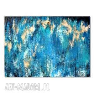 Nebula u9,abstrakcja, nowoczesny obraz ręcznie malowany