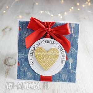 kartka świąteczna na boże narodzenie po godzinach - prezent