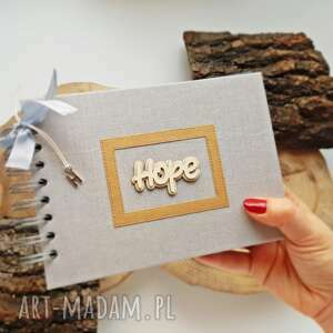 scrapbooking kartki album na zdjęcia - hope, album, scrapbooking, prezent