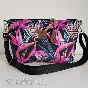 tasha handmade torebka mini plus pocket rajska strelicja frędzel washpapa -