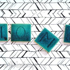 Ceramika litery literki HOME, dekoracje, litery, literki, ceramika