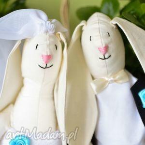 króliki ślubne - idealny prezent dla pary młodej zamiast kwiatów