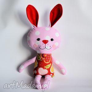 Zając Kicak - Beatka, zając, królik, dziewczynka, chrzest, maskotka, przytulanka
