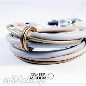 duo mini s, bransoletka, rzemienie, casual biżuteria