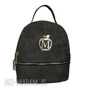 plecaki manzana mini plecak/listonoszka wygodny styl- grafit, mini, plecak, grafit