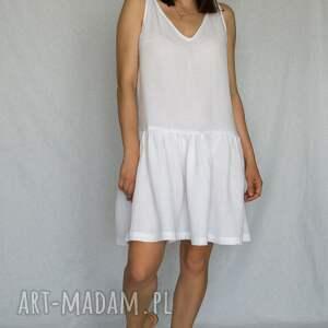leiw sukienka marsilia white, letnia sukienka, na ramiaczkach