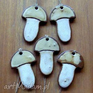 ceramika postarzane grzybki, grzyby, grzybek, postarzane, ceramiczne, rustykalne