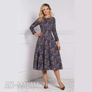 sukienki sukienka klara 3/4 total midi andrea