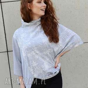 bluzka damska asymetryczna na różne okazje, damska, tunika luźna