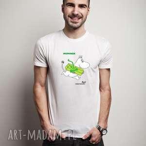 licencjonowana koszulka męska muminek z twoim imieniem, dla niego, walentynki