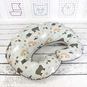 Duża poduszka do karmienia wild dla dziecka nuvaart poduszka