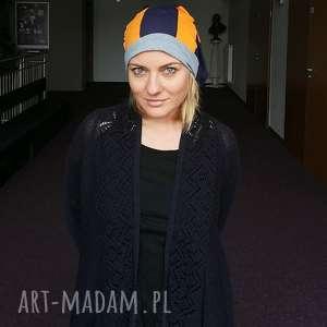 hand made czapki czapka patchworkowa damska długa etno boho