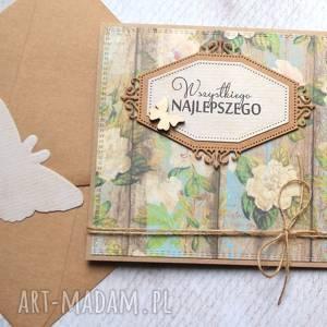 Wszystkiego najlepszego:: rustic kartki kaktusia ślub, imieniny,