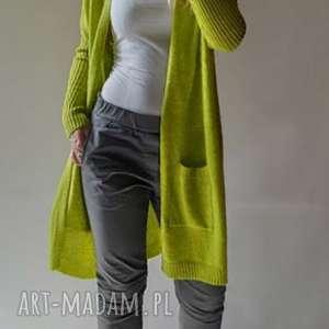wyjątkowy prezent, kardigan klasyczny damski, długi, sweter, kadrigan, damski