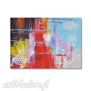 obrazy abstrakcja cls, nowoczesny obraz ręcznie malowany, abstrakcja,