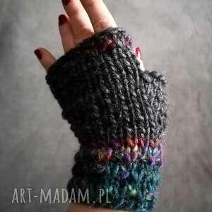 handmade rękawiczki mitwnki