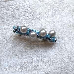 perełkowa spinka, spoinka, perły, perełki